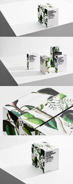 Organic Aroma by Kille Enna — The Dieline | Packaging & Branding Design & Innovation News