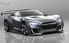 スバル、VIZIV GT ビジョン グランツーリスモ 発表…600psのPHVスポーツ