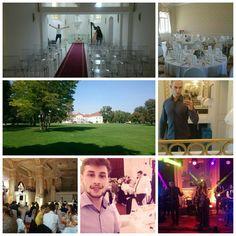 Pred týždňom naše tímy natáčali na rôznych krásnych miestach :-) . #wedding #bratislava #kastieltomasov #replayband #15 #16