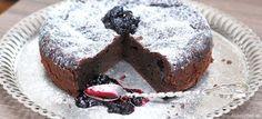 Fotorecept: Čokoládová torta bez múky