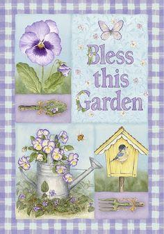 Bless this garden..