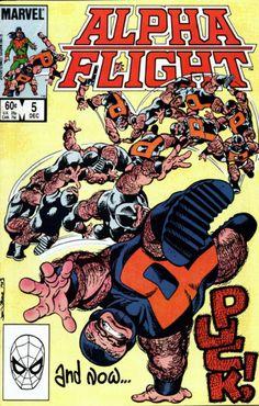 Alpha Flight | Alpha Flight #5 comic book from Marvel Comics Group