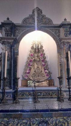 Altar de la Virgen del Rocío en la Iglesia de la Concepción, Huelva