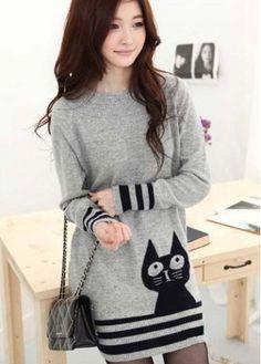 Cat dress. I like it.