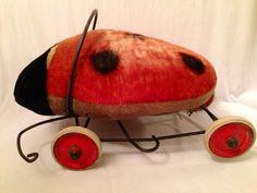 Steiff Ladybird or Ladybug Riding Toy by JaybirdFinds on Etsy, $180.00