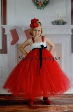 Mrs. Claus Tutu Dress