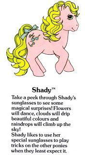 My Little Pony Fact File: Shady