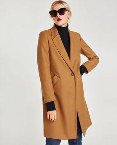 Image 2 of MASCULINE WOOL  COAT from Zara