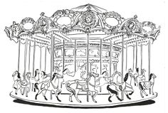 carousel+drawing | Taken by the Hand: An illustrated carousel