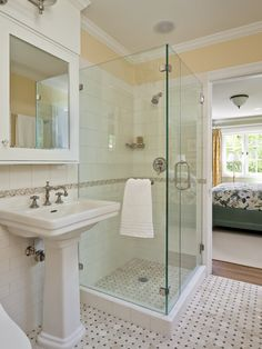Glass Shower Design, Pictures, Remodel, Decor and Ideas Downstairs bathroom