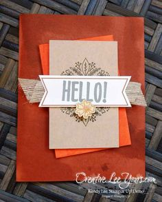 august 2016 bold botanicals paper pumpkin kit by Wendy Lee, Stampin Up…