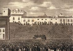 1865 - Derribo de la muralla cristiana.