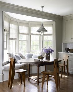 File Style: Mark Cunningham - % Dining Room Bench Seating, Banquette Seating, Dining Table, Dining Rooms, Nook Table, Retro Lamp, The Beautiful Country, Wooden Tables, Wooden Chairs