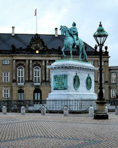 Palacio de Amalienborg en Dinamarca