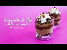 Receita de Cheesecake de Café e Molho de Caramelo - YouTube