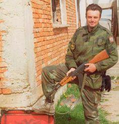 RUSSIAN VOLUNTEER with SERBS