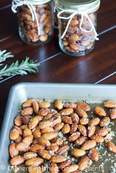 Garlic Rosemary Scented Almonds 3
