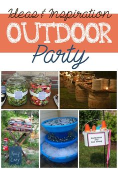 Outdoor party ideas & inspiration.