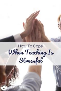 In normal times, teaching is stressful. And these aren't normal times. Teaching is stressful right now, even more than usual. We can't control the virus or the regulations and restrictions we are working with, but we can take steps to take care of ourselves or make other aspects of teaching easier. When teaching is stressful here are 4 things to try.