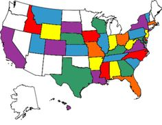 All the states I have visited....