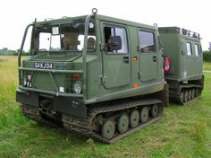I have found the ULTIMATE Metal Detecting Vehicle! Amphibious, All Terrain, both units track driven, gas/diesel! Never seen one in the US. Gotta get one!