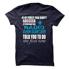 (Tshirt Awesome Choose) RADIO ANNOUNCER  Free Ship  RADIO ANNOUNCER  Tshirt Guys Lady Hodie  SHARE and Get Discount Today Order now before we SELL OUT Today  Camping 32 years of being awesome announcer radio