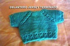 CONOCIENDO ARTESANAS: Como hacer un jersey para un nenuco, paso a paso