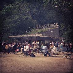 Shake Shack in Madison Sq Park