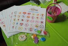 activity:  DIY Lalaloopsy Bingo