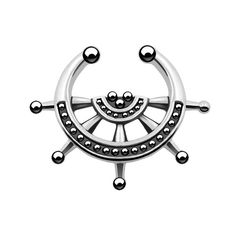 Nautical's Studed Septum Clip On