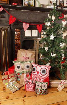 Owls at Chistmas | Flickr - Photo Sharing!