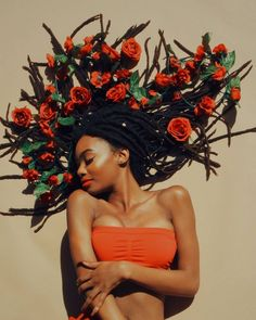 #crowningherqueen #slayingthecrown #queen #redlipstick #teamnatural #locnation #popofcolor #healthyhair #melanin #protectivestyle #dreads… Beautiful Black Women, Beautiful People, Black Girl Aesthetic, Foto Pose, Black People, Black Girl Magic, Black Girls, Portrait Photography, Nature Photography