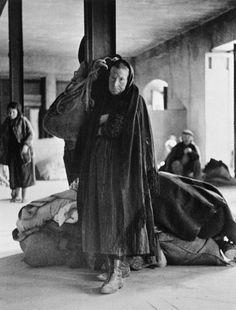 Murcia, Spain. Refugees from Malaga. By Robert Capa, (February 1937)