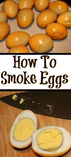 If you don't know How To Make Smoked Eggs it really is easy to do! Just a little bit of time in the smoker to take your hard-boiled eggs to the next level! Traeger Recipes, Smoked Meat Recipes, Grilling Recipes, Campfire Recipes, Turkey Recipes, Dinner Recipes, Smoked Eggs, Smoked Pork, Gastronomia