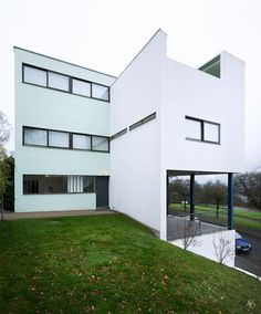 Haus Le Corbusier at Weissenhofsiedlung.  Stuttgart, Germany.  All rights…