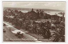 Gardens Cars Government House Sydney Australia postcard. $6.50, via Etsy.