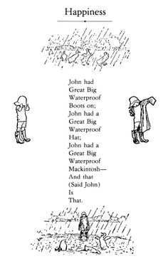 What was A.A. Milne's essay A Word for Autumn?