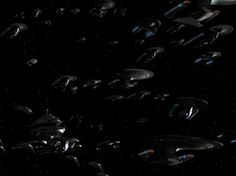 """88) Favor the Bold/Sacrifice of Angels (Star Trek: Deep Space Nine) - This episode is a turning point in the """"Dominion War"""" arc. But more to the point, it features a ginormous, amazing space battle, featuring hundreds of starships."""