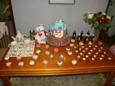 Mesa Alice  #cake #cakeealice #boloalice #alicenopaisdasmaravilhas