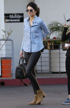 Kendall Jenner - Shopping for furniture with friends in West Hollywood #streetstyle