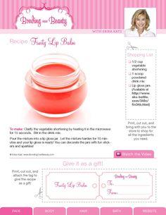 ISSUU - Bonding Over Beauty DIY Beauty Recipes by Erika Katz by Katie Schlientz