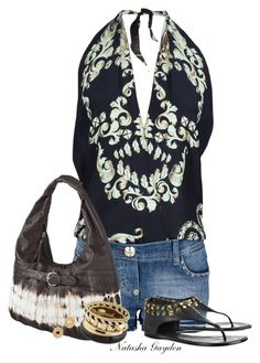 """Romper"" by natasha-gayden ❤ liked on Polyvore featuring Philipp Plein, Tory Burch, ALDO and Lara Bohinc"