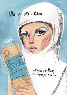 Maria Herreros, ilustración Women of the Future