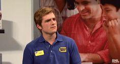 """Vidéos de Josh au """"Saturday Night Live"""" (New-York 23-11-2013)."""