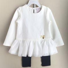 Look what I found while shopping on Totspot, the resale shopping app for families.   Golden Heart Designer Quilted Peplum Set  Love this! #kidsfashion #familyfashion