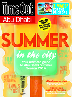Summer in the City - Your ultimate guide to Abu Dhabi Summer Season 2014