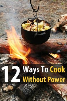 All 12 of these ways to cook without power are great, but you'll have to decide for yourself which methods are best for you. It will depend on where you live, what you can afford, the kind of resources you have, and so forth. Be sure to familiarize yourself with all of these, and have at least three of them ready to go (two of which should be portable in case you have to bug out).