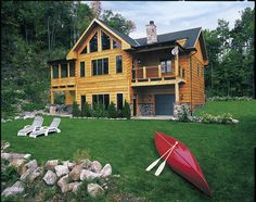 Klondike III by True North Log Homes