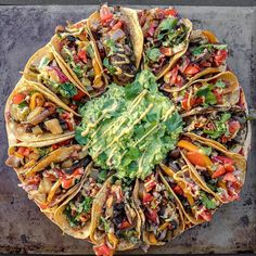 Tacos Pizza find recipe by @sweetsimplevegan