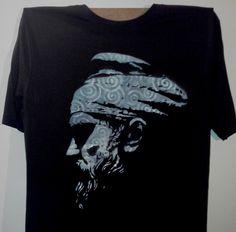 Hand painted t-shirt.Tarabostes